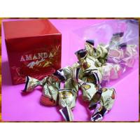 阿曼達脆米榛果風味代可可脂牛奶巧克力-300g精美禮盒包裝