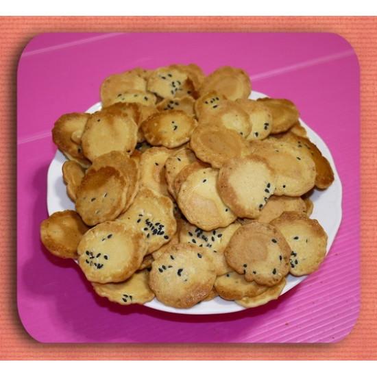 阿嬤年代的圓煎餅(芝麻)一台斤裝