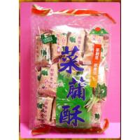 麥芽糖菜圃酥400g袋裝-台灣製