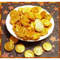 招財糖-瑞士金幣巧克力(一斤裝)台灣製