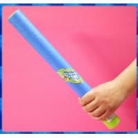 細長水柱的海綿全吸水式水槍-女生專用約35公分長