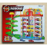 大型立體汽車停車場遊戲組5樓高